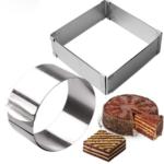 Металлические формы для тортов